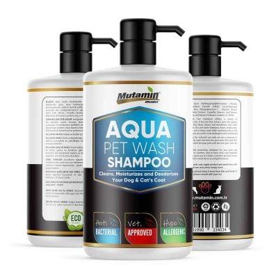 Mutamin Organics Aqua Kedi ve Köpek Şampuanı Okyanus Esintisi 500 ml
