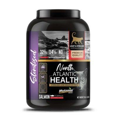 Mutamin Organics North Atlantic Health Somonlu Light-Sterilised Kedi Maması 3 kg